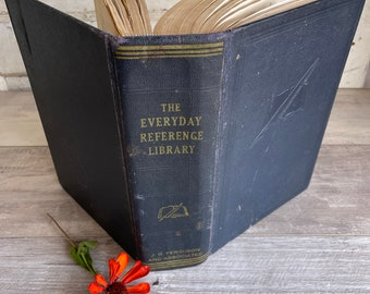 The Everyday Reference Library - 1950s How To EVERYTHING Book - Home, Business and Self Improvement