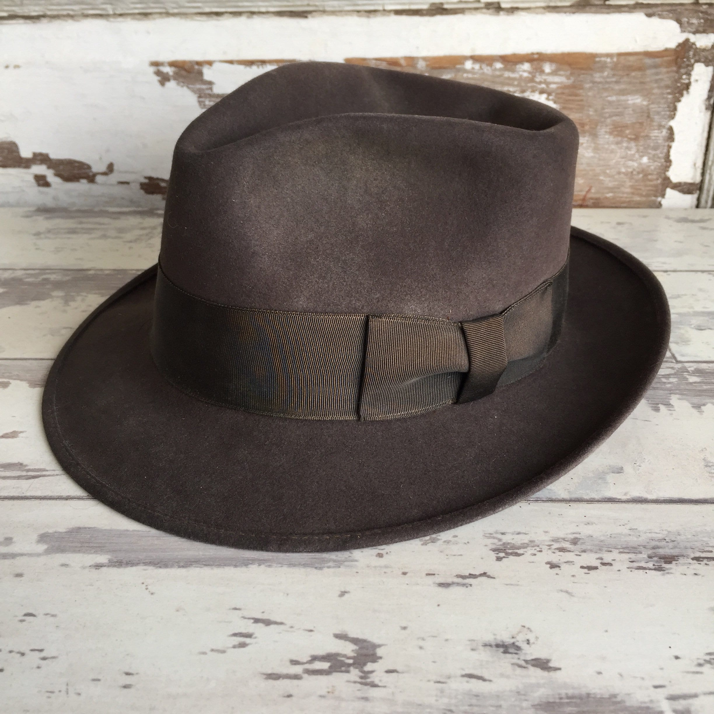 fd748077d56e1 Vintage Hat and Box Hatbox Royal Stetson Fedora Indiana