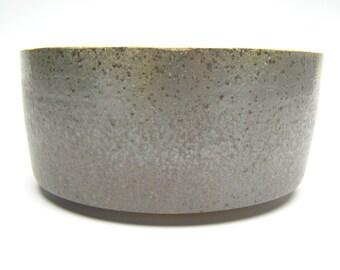 Contemporary ceramic planter Succulent planter Modern Planter Cactus planter pottery Gunmetal black 6 1/2 x 3 T-5