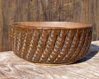 6  3/4 x 3  inch  Rustic Succulent Planter with drainage hole/ 29-c