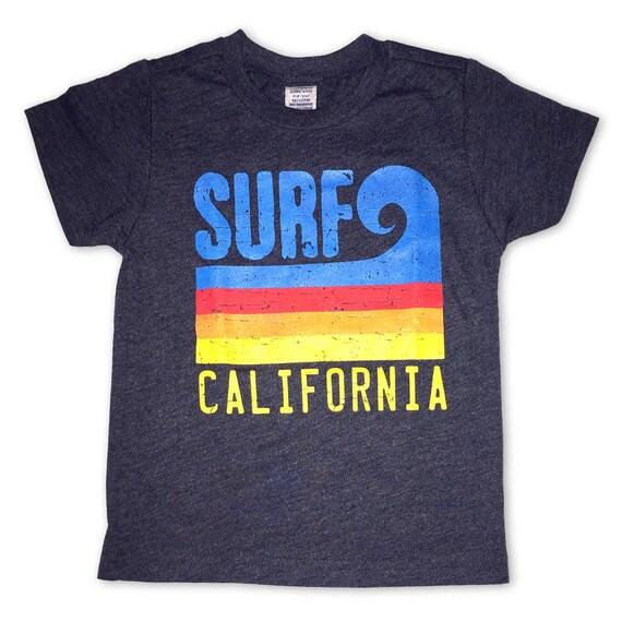 Sol Baby Surf California Stripe Wave Hoodie