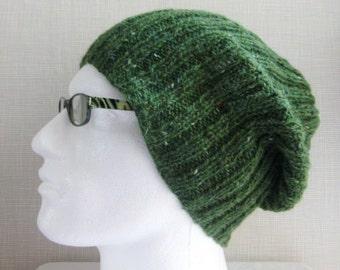 KNITTING PATTERN Mens Slouch Hat Easy Knitting Pattern Knit Round Gift for Men Digital Download Gift for Boyfriend Graduation Gift SEATTLE