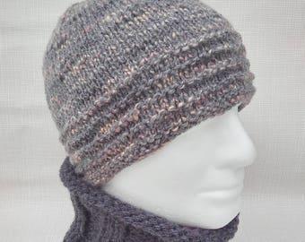 Mans HAT PATTERN Knit Beanie Hat Pattern Easy Beanie Knitting PatternGift for Him Knit in the Round Dad Hat Boyfriend Gift Easy Knit BURREN