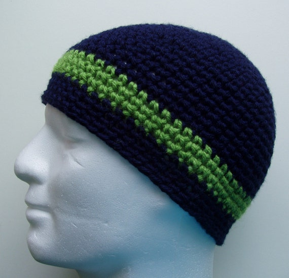Crochet Patterntoni Easy Crochet Beanie For Menman Crochet Etsy