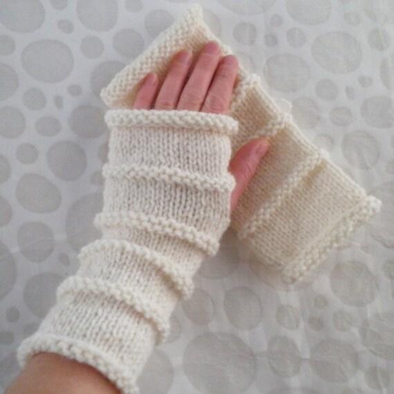 Knitting Pattern Oslo Fingerless Gloves For Menboys Quick Etsy