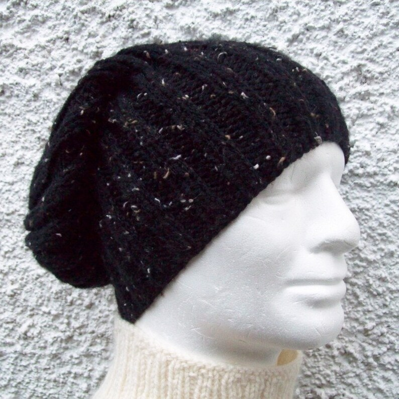 30d67ab7f59 KNITTING PATTERN SEATTLE Chunky Knit Ribbed Hat for