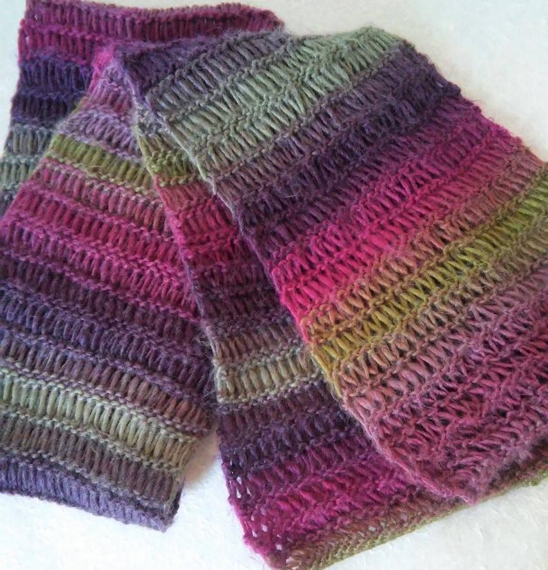 09c57e122fd SCARF PATTERN Mans Long Wool Scarf Knitting Pattern Mens Easy