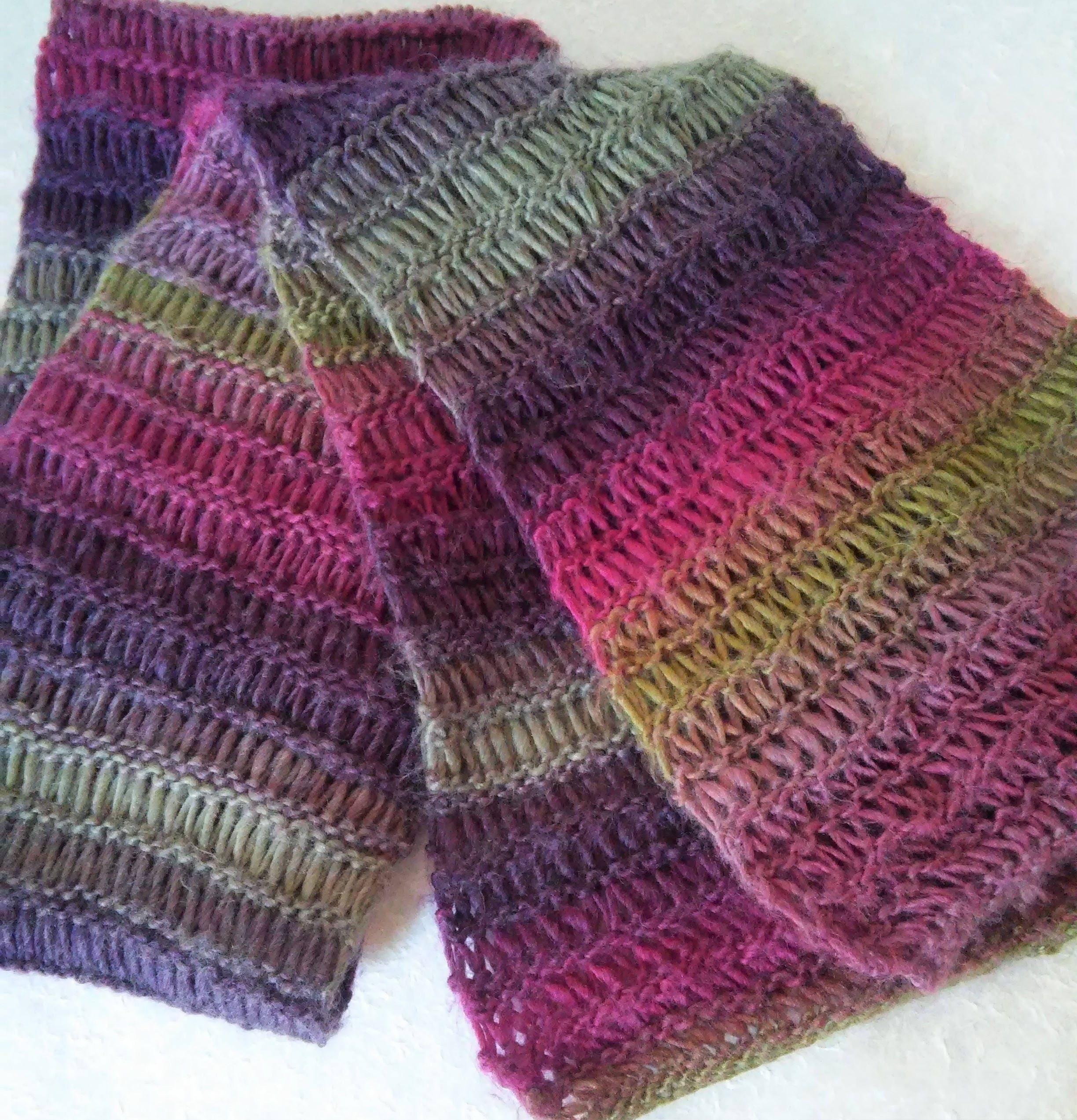 Scarf Pattern Mans Long Wool Scarf Knitting Pattern Mens Easy Etsy