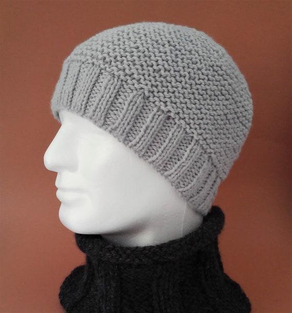 a45a8e45507 Teenagers Beanie Pattern Easy Knit Boys Simple Beanie Cap
