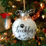 Tuxedo Cat Ornament - Cat Christmas Ornament - Personalized Gift for Cat Lover