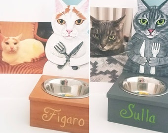 Custom Cat Feeders