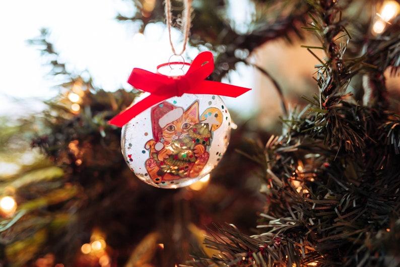 Post Office Hours Sellersville Pa Christmas Eve 2020 Orange Tabby Cat Ornament Cat Christmas Ornament Tabby Cat | Etsy