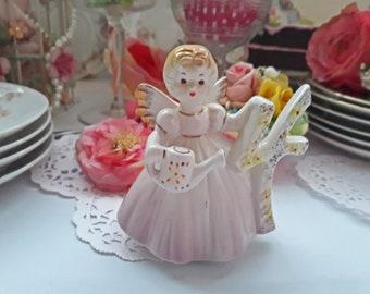 Sweet Vintage Josef Birthday Angel Four