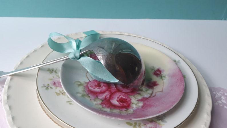 Weddings Bridal Vintage Soup Ladle Bailey Banks /& Biddle Silverplate