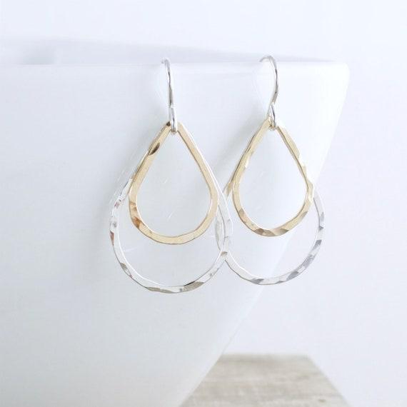 Teardrop Earrings mixed