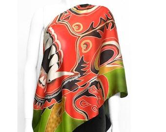 Asian Silk Scarves