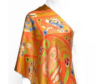 Latin Silk Scarves