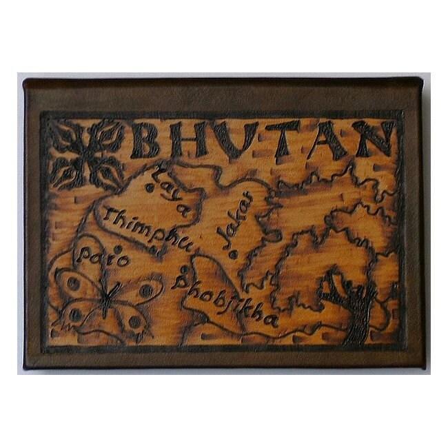 Bhoutan - voyage Album de photos de voyage - en cuir - artisanal bf5d8d