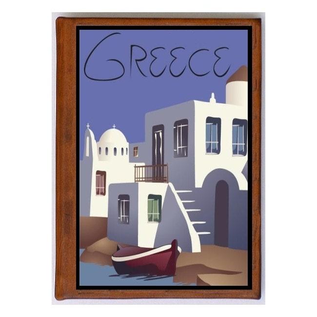 Grèce 4 - gallerie de photos en cuir - Art voyage voyage Art 04a4cb
