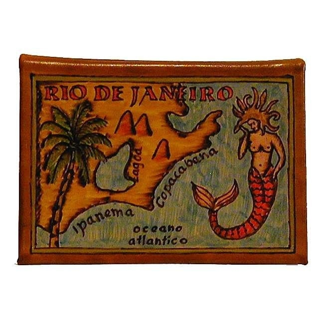 RIO DE JANEIRO - Album de photos voyage de voyage photos en cuir - fait main a54c86