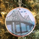 Tappan Zee Bridge, New York Handmade Ornament