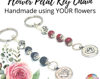 European Style Sympathy Gift Made From Your Flowers Memorial Keepsakes Christmas Gift Sterling Silver Large Hole Bead Wedding Gift