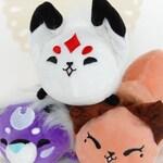 Fox Plush, Tiger Plush, Fox Stuffed Animal, Floral Frolic Queenie, Dawnsing, and Rawra Plush