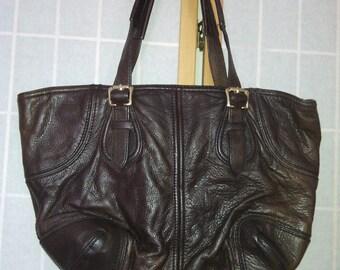 79cfb57c1f4 Original Designer Antonio Melani Leather Shoulder Handbag, Antonio Melani  Leather Designer Purse