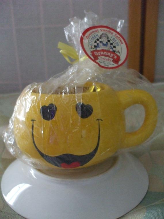 Smiley Face Mug Etsy
