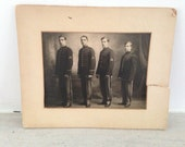 1908 vintage MILITARY ACADEMY GROUP photo