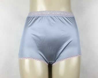 d34a25d2083 vintage semi sheer Grey Granny Panties - high waisted