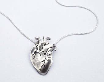 Anatomical Heart Sterling Silver Limited Edition