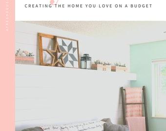 DIY HOME Guide, Planner plus Worksheets, Checklists, Planner, PDF Download, Home Management