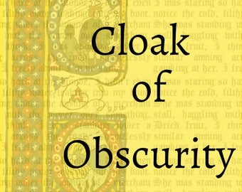 Cloak of Obscurity: the First Edward Red Mage Mystery