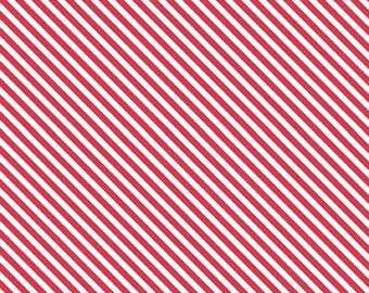 Summer Blush by Sedef Imer of Down Grapevine Lane Stripe Red