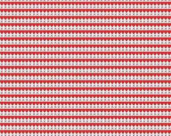 20% OFF Riley Blake Designs A Little Sweetness By Tasha Noel Scallops Red