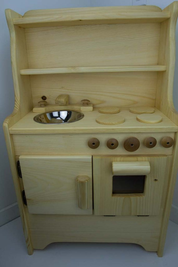 Wooden toy Kitchen Liam's Child's wooden toy Kitchen