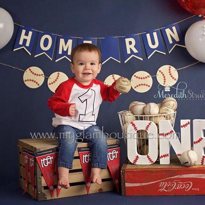 BASEBALL Raglan Tee Birthday Shirt Embroidered Birthday Boy Baseball Birthday Rookie of the year 1st Birthday 2nd Birthday ONE TWO Tee Shirt