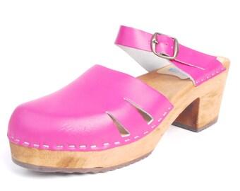 130302e135 Vintage Clogs - 70s Clogs - 70s Leather Clogs - 70s Sweden Clogs - 70s Pink  Clogs - Mary Jane Clogs - Tessa Clogs - Pink Leather Clogs