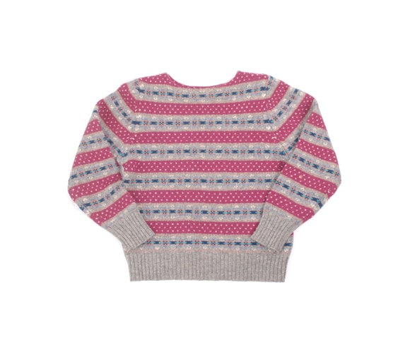 Vintage 80s Sweater - 80s Wool Sweater - 80s Skyr