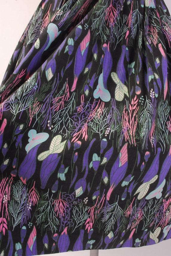 Vintage 50s Skirt - 50s Full Skirt - 50s Novelty … - image 4