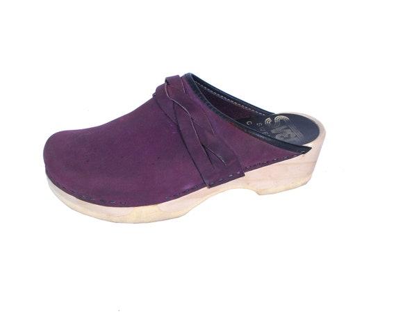 Vintage Sven Clogs - Sven Purple Clogs - Vintage S