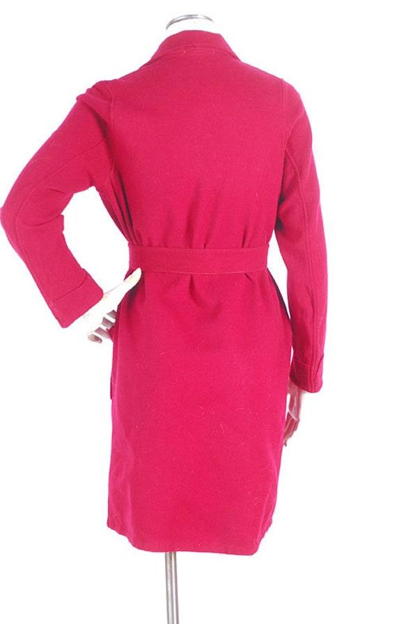 Vintage 40s Robe - 40s Novelty Robe - 40s Wool Ro… - image 9