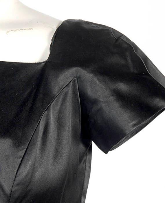 Vintage 50s Dress - 50s Party Dress -  - 50s Silk… - image 5