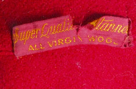 Vintage 40s Robe - 40s Novelty Robe - 40s Wool Ro… - image 2