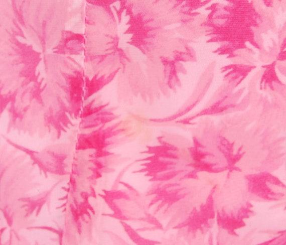 Vintage 50s Dress - 50s Party Dress - 50s Pink Dr… - image 5