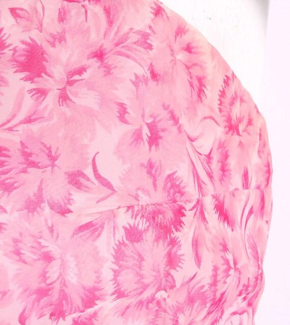 Vintage 50s Dress - 50s Party Dress - 50s Pink Dr… - image 4
