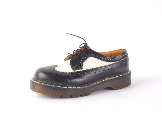 Vintage 80s Doc Martens - Doc Martens Oxfords - Do