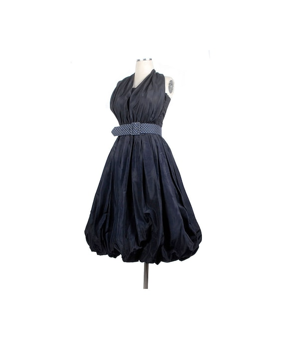 Vintage 50s Dress - 50s Party Dress - Bubble Skirt
