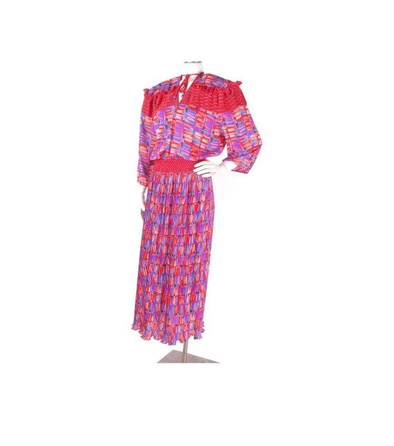 Vintage 70s Dress - Susan Freis Dress - Boho Dress